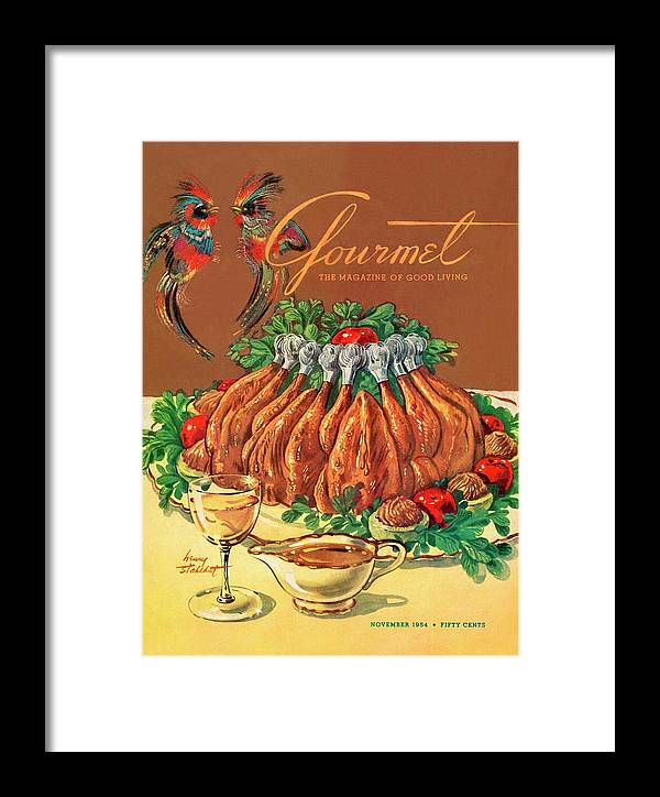 Food Framed Print featuring the photograph A Gourmet Cover Of Chicken by Henry Stahlhut