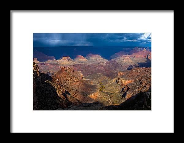 Arizona Framed Print featuring the photograph A Grand View by Ed Gleichman