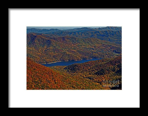 Nature Framed Print featuring the photograph A Jewel On The Smokies by Skip Willits