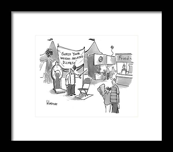 A Man With A Top-hat And Cane Stands By A Big Framed Print by John ...