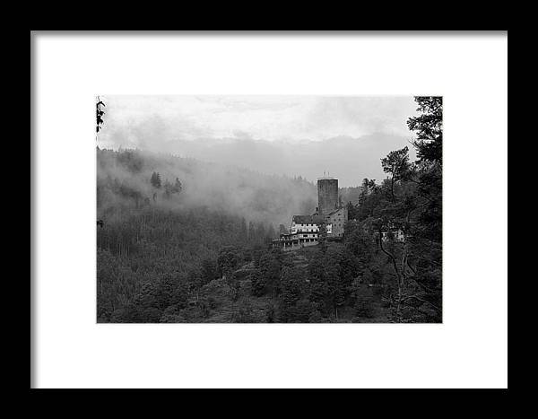Castle Framed Print featuring the photograph A Mighty Fortress by Martin Michael Pflaum