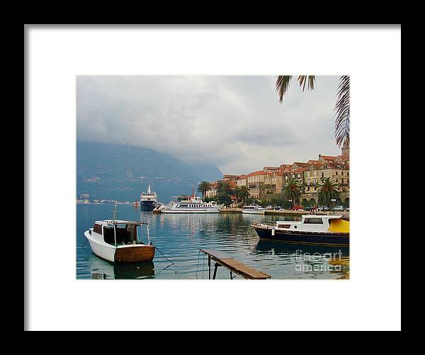 Water Framed Print featuring the photograph A moment to myself by De La Rosa Concert Photography