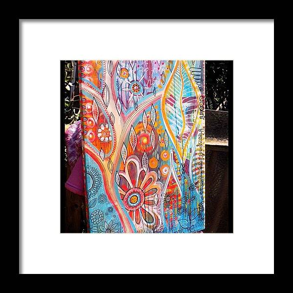 Abstract Framed Print featuring the photograph A New Canvas ...it's All About by Robin Mead