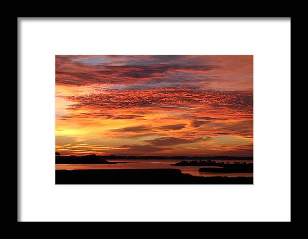 Sun Framed Print featuring the photograph A New Day by Randolph Hodges