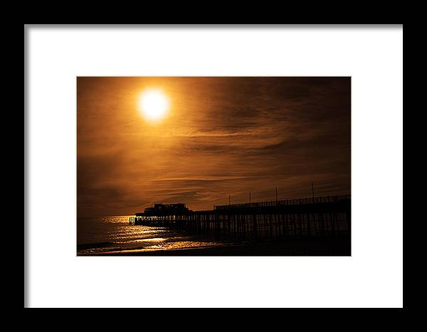 Framed Print featuring the photograph A New Life With Each Wave by Jez C Self