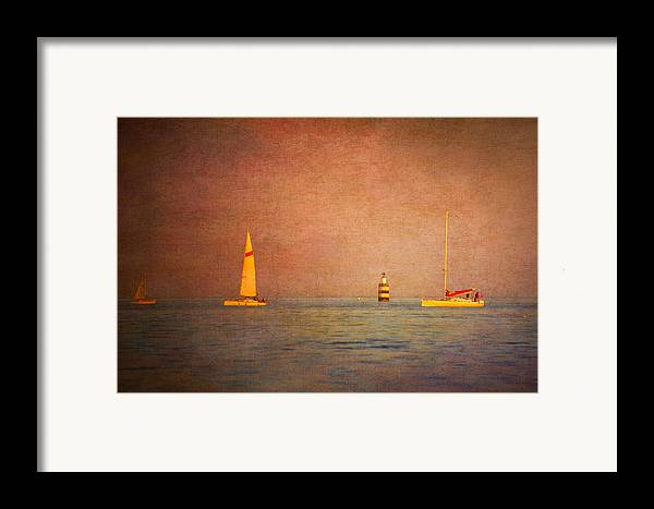 Loriental Framed Print featuring the photograph A Perfect Summer Evening by Loriental Photography