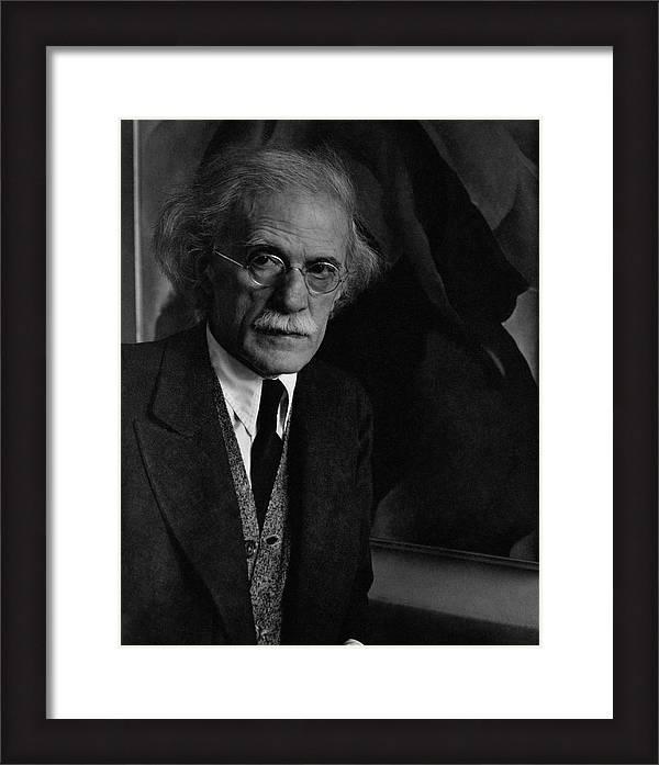 A Portrait Of Alfred Stieglitz by Imogen Cunningham