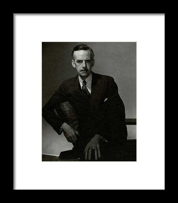 Personality Framed Print featuring the photograph A Portrait Of Eugene O'neill by Edward Steichen