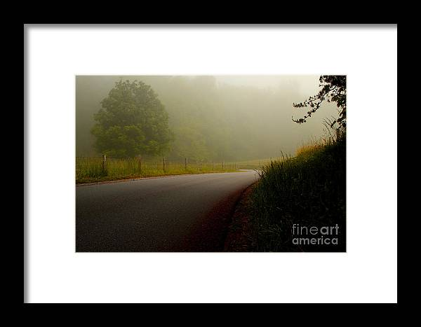 Cades Cove Framed Print featuring the photograph A Quiet Morning by Michael Eingle