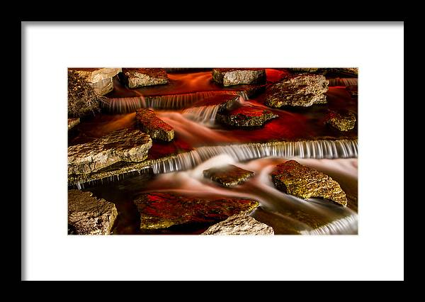 Landscape Framed Print featuring the photograph A River Runs Through It by Joshua Carelli