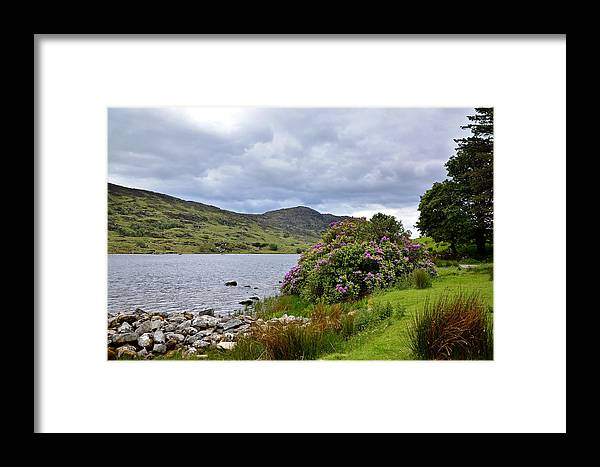 Scene Framed Print featuring the photograph A Scene From Kerry by Martina Fagan