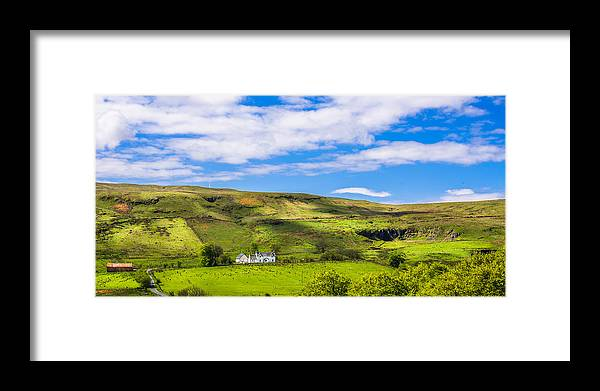 Largs Framed Print featuring the photograph A Scottish Hillside by Tylie Duff