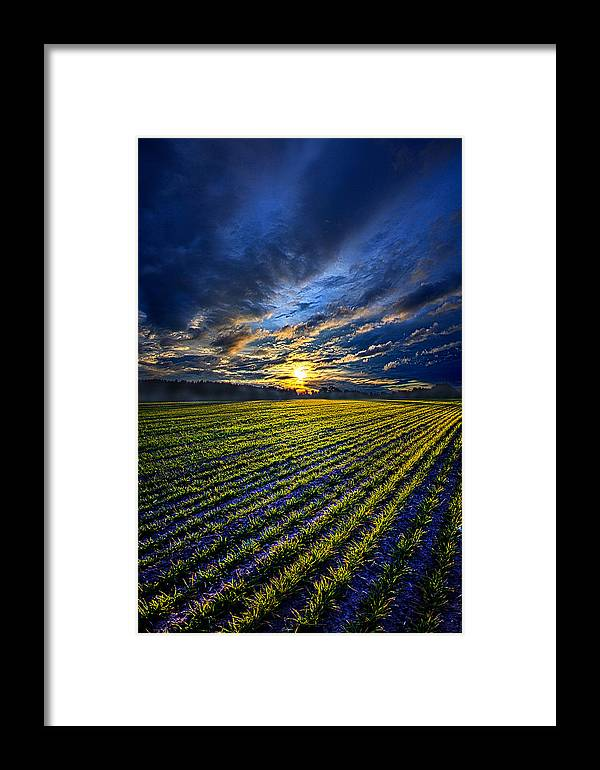 Shadows Framed Print featuring the photograph A Short Piece Of Time by Phil Koch