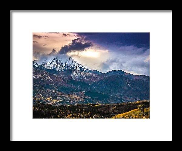 Landscape Framed Print featuring the photograph A Sight To See by Tyler Olson