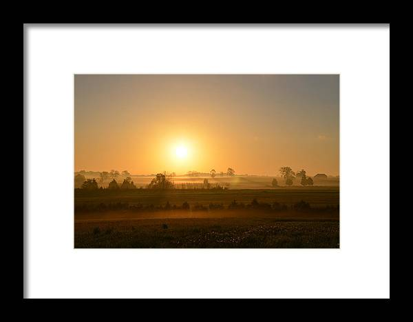 Spring Framed Print featuring the photograph A Spring Morning At Gettysburg by Bill Cannon