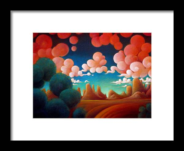Magical Framed Print featuring the painting A Taste Of Summer by Richard Dennis