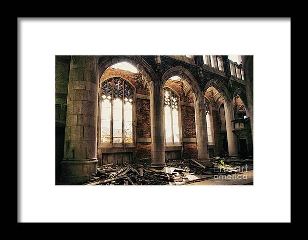 Church Framed Print featuring the photograph Abandoned Hope by Terry Rowe