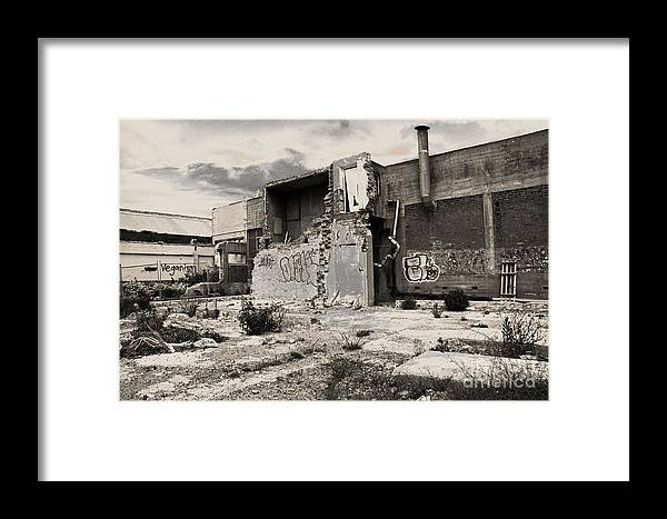 Abandoned Framed Print featuring the photograph Abandoned by Nareeta Martin