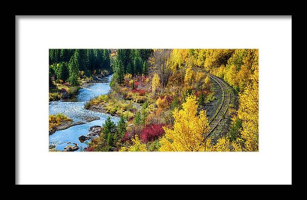 Scenics Framed Print featuring the photograph Abandoned Railway by C. Fredrickson Photography