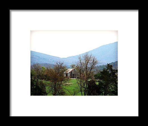 Abandoned Va 3 Framed Print featuring the photograph Abandoned Va 3 by Brenda Conrad