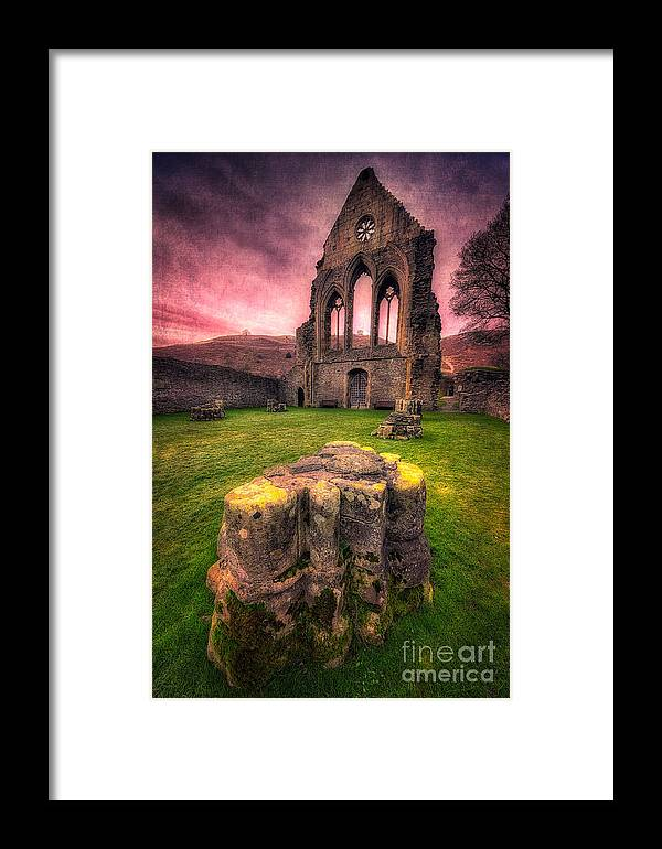 13th Century Framed Print featuring the photograph Abbey Ruin by Adrian Evans