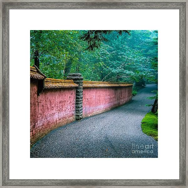 Abby Aldrich Rockefeller Garden Framed Print by Edward ...