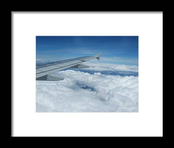 Rome Framed Print featuring the photograph Above The Clouds by Kostas Kanellopoulos