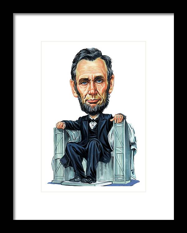 Abraham Lincoln Framed Print featuring the painting Abraham Lincoln by Art