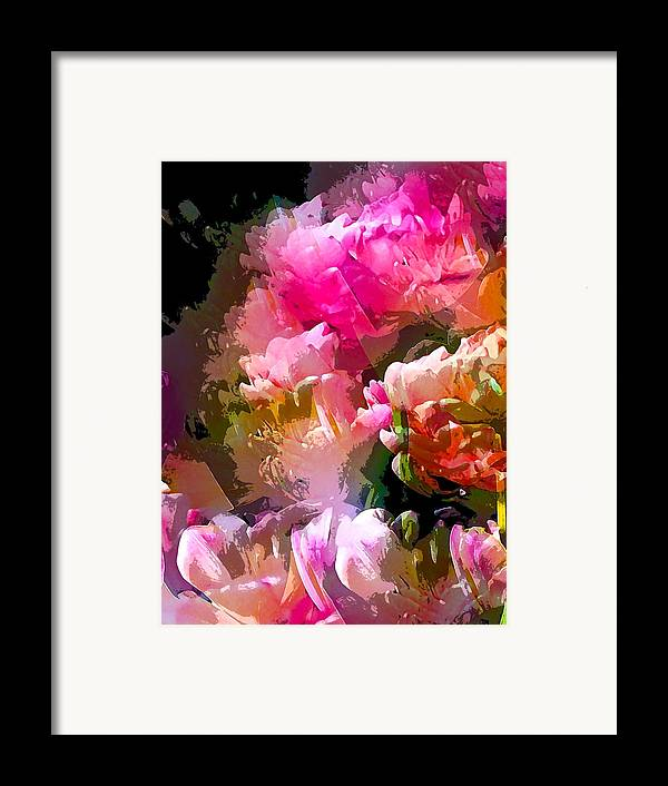 Abstract Framed Print featuring the photograph Abstract 272 by Pamela Cooper