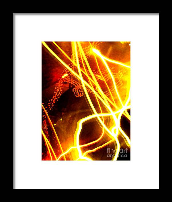 Abstract Framed Print featuring the photograph Abstract by Amanda Barcon
