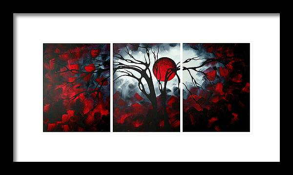 Abstract Gothic Art Original Landscape Painting Imagine By
