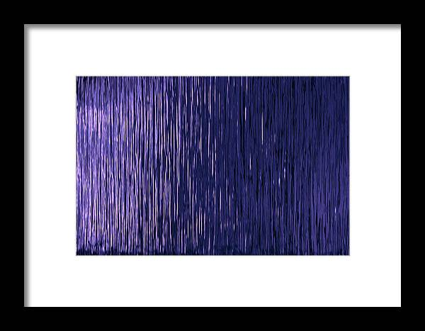 Business Framed Print featuring the photograph Abstract Line Pattern by Jozef Jankola