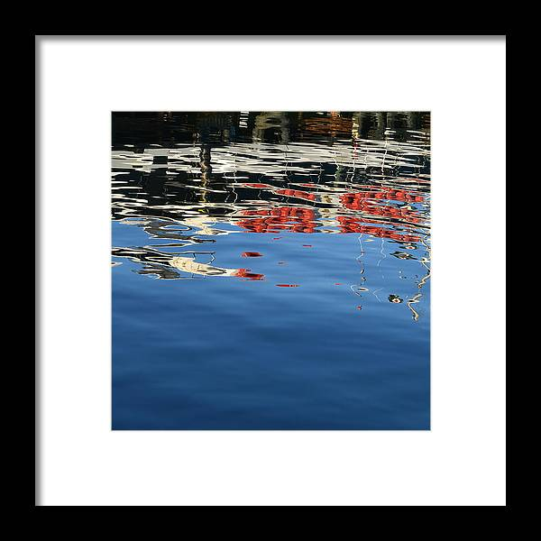 Boat Framed Print featuring the photograph Abstract Meditation 3 by Anama Art