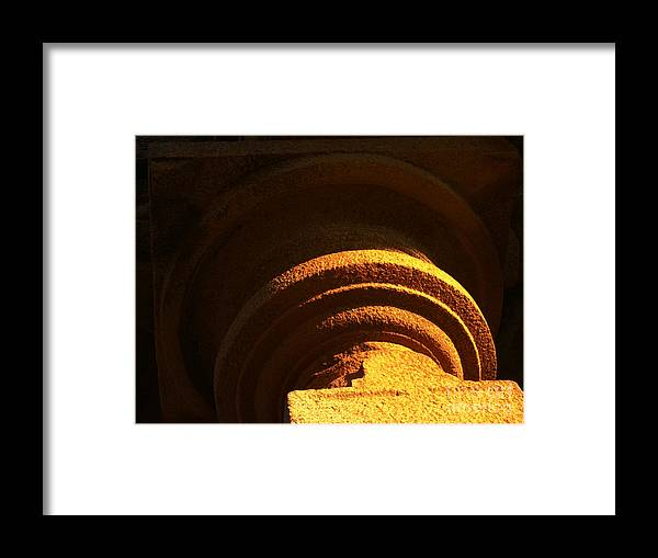 Abstract Framed Print featuring the photograph Abstract by Varija Hegde