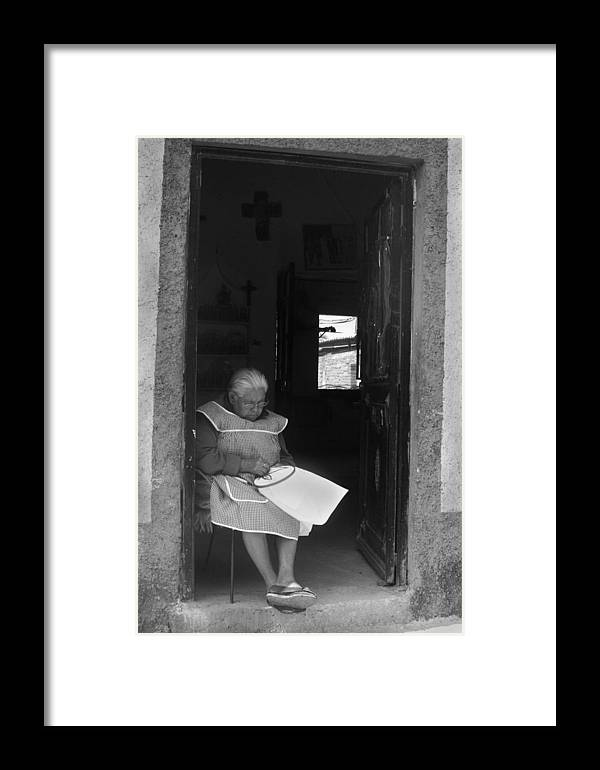 Mexico Framed Print featuring the photograph Abuela by Tod Ramey