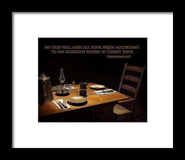 Sharlott Hall Museum Framed Print featuring the photograph Abundance by Priscilla Burgers