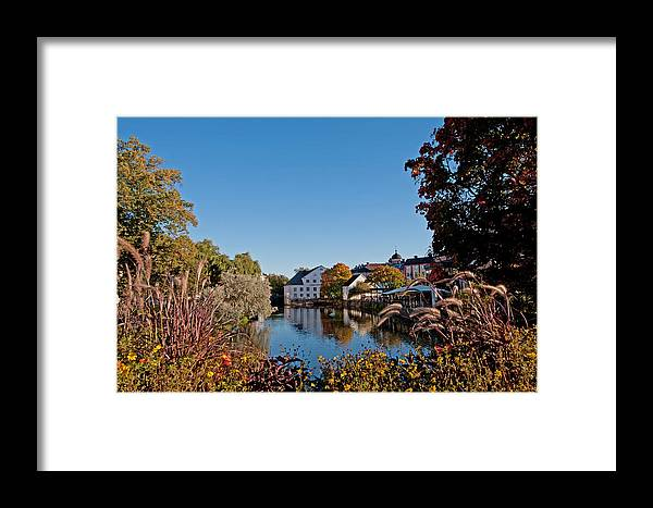Academy Mill Framed Print featuring the photograph Academy Mill Or ... by Torbjorn Swenelius