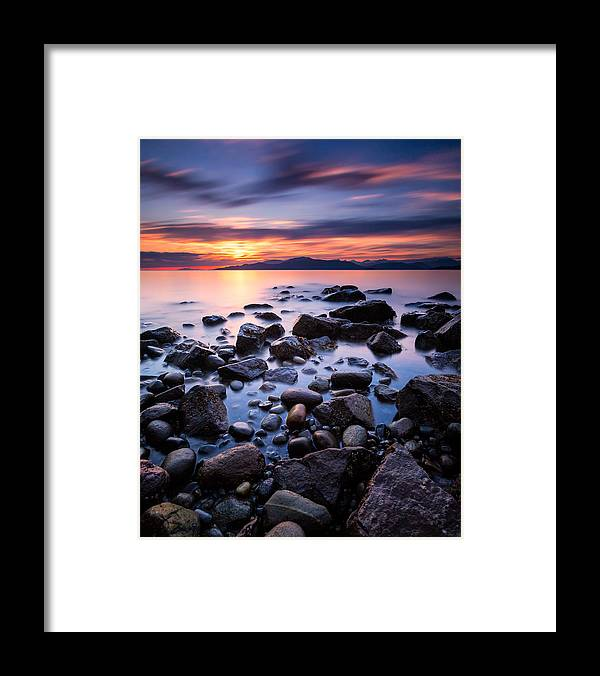 Beach Framed Print featuring the photograph Acadia Beach by Alexis Birkill