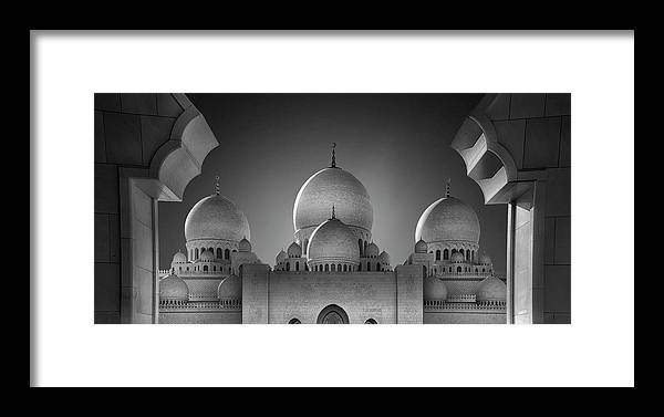 Architecture Framed Print featuring the photograph Access To Heavens 2 by Ahmed Thabet