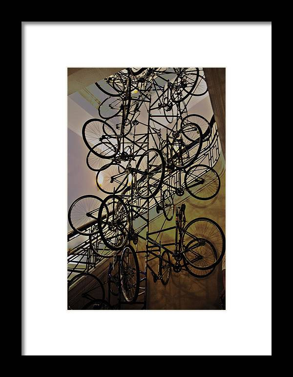 Surrealistic Framed Print featuring the photograph Accumulation by Mengting Zhang