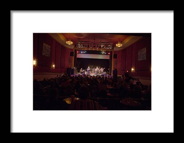 Acoustic Alchemy Framed Print featuring the photograph Acoustic Alchemy On Stage by Scott Lenhart