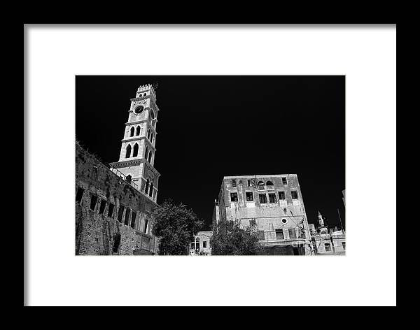 Acre Framed Print featuring the photograph Acre In Israel by Sarka Olehlova