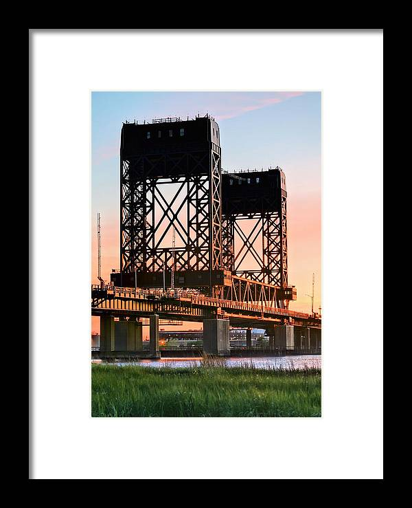 Hackensack River Framed Print featuring the photograph Across The Hackensack by JC Findley