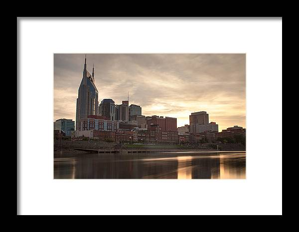 Nashville Framed Print featuring the photograph Acts 1 8 by David Johnston