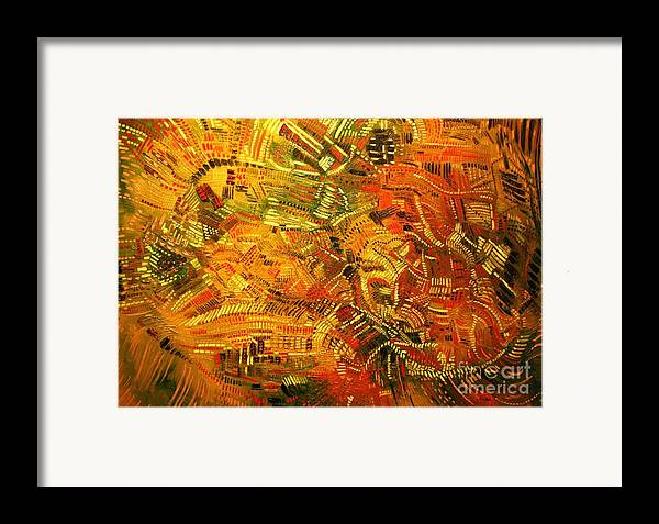 Michael Kulick Framed Print featuring the painting Adaptation by Michael Kulick