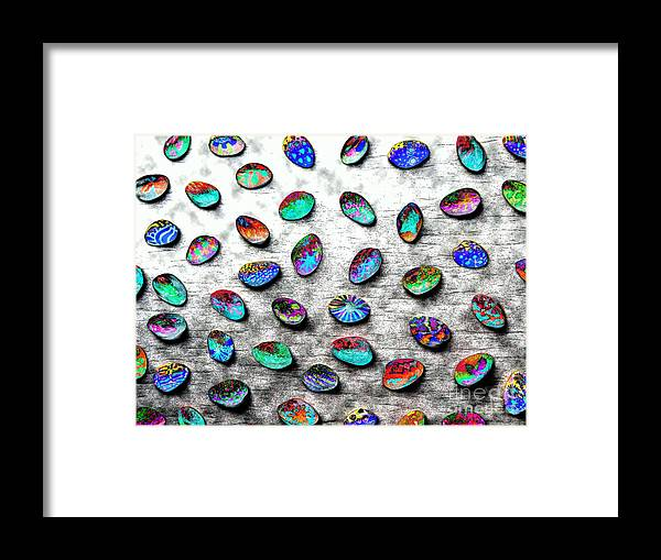 Diane Dimarco Art Framed Print featuring the photograph Adorned 2 by Diane DiMarco