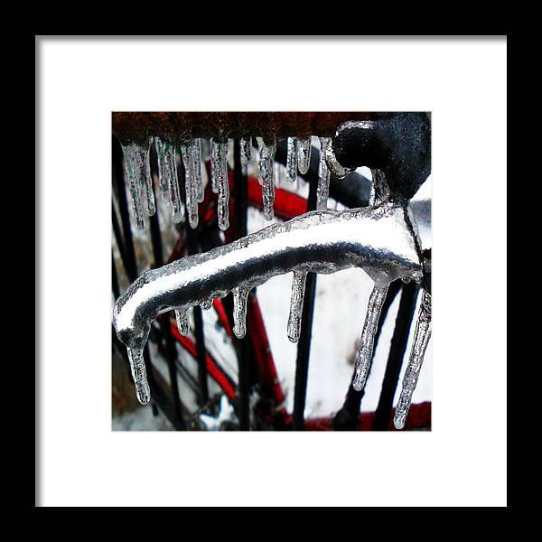 Ice Framed Print featuring the photograph Afn8 by J Andrel