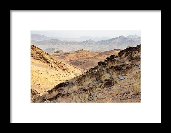Africa Framed Print featuring the photograph Africa, Namibia, Northwestern Namibia by Ellen Goff