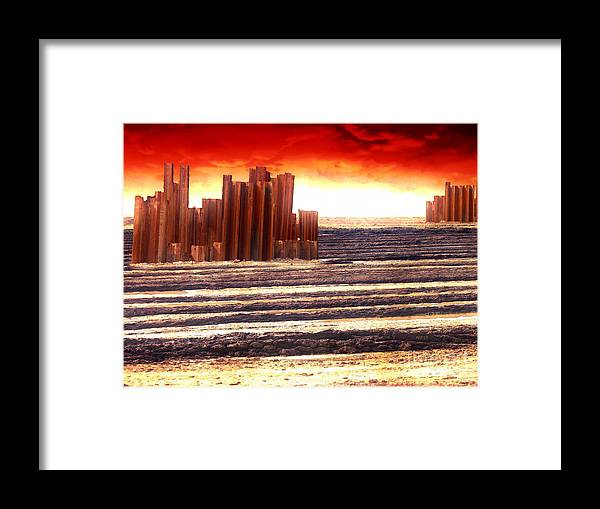 Apocalypse Framed Print featuring the photograph After The Apocalypse by Phil Perkins