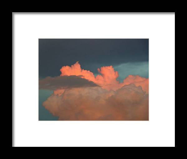 Clouds Framed Print featuring the photograph After The Evening Storm by Pete Trenholm